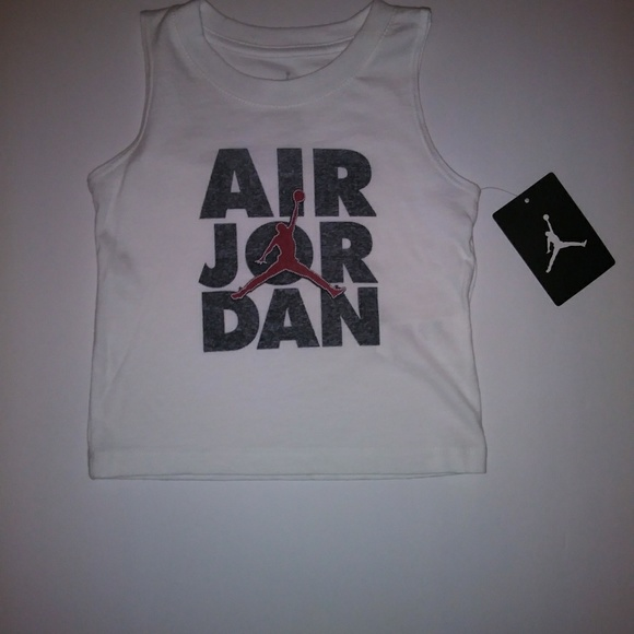 86c67cbc701263 Baby Air Jordan Graphic Tank Top Size 12 Months. NWT